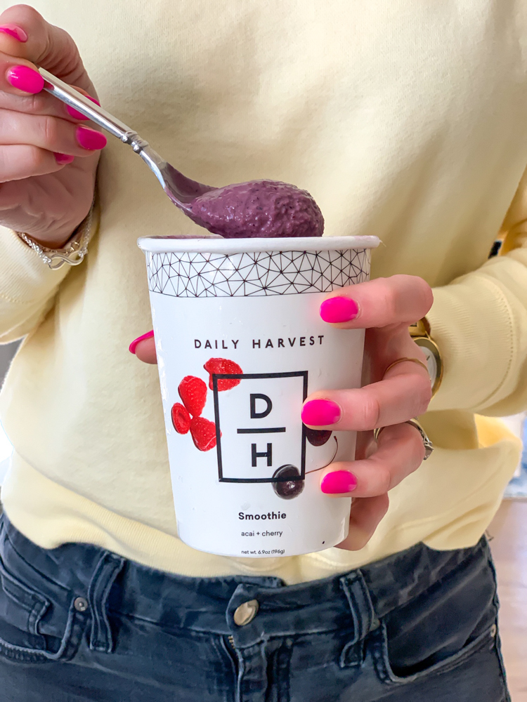 Daily Harvest smoothie by A Lady Goes West - February 2020Daily Harvest smoothie by A Lady Goes West - February 2020