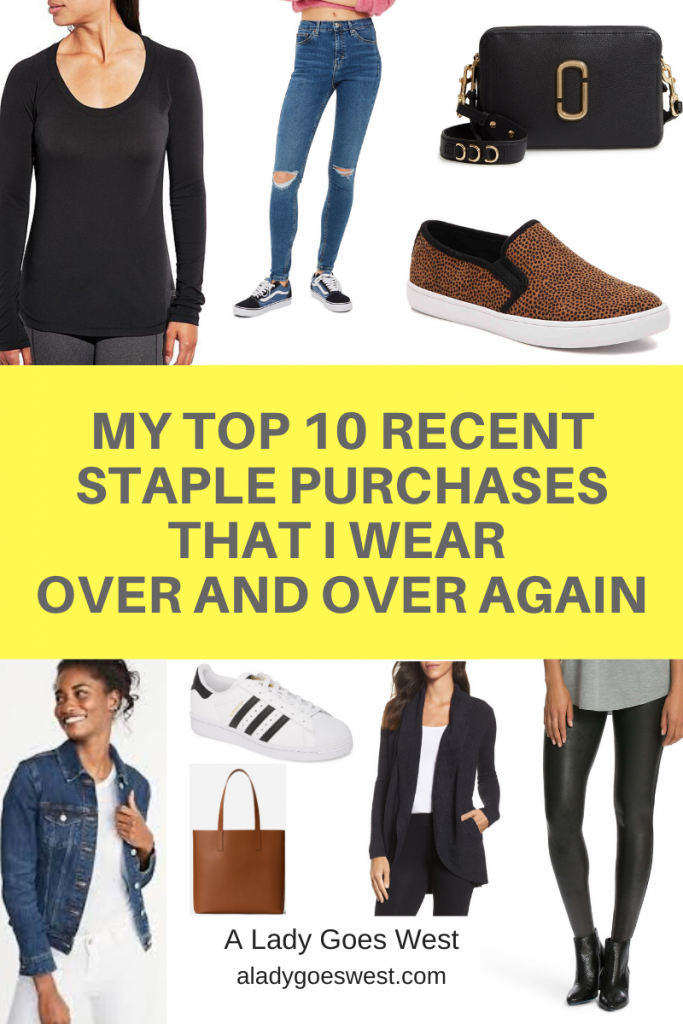 My top 10 recent staple purchases that I wear over and over again by A Lady Goes West