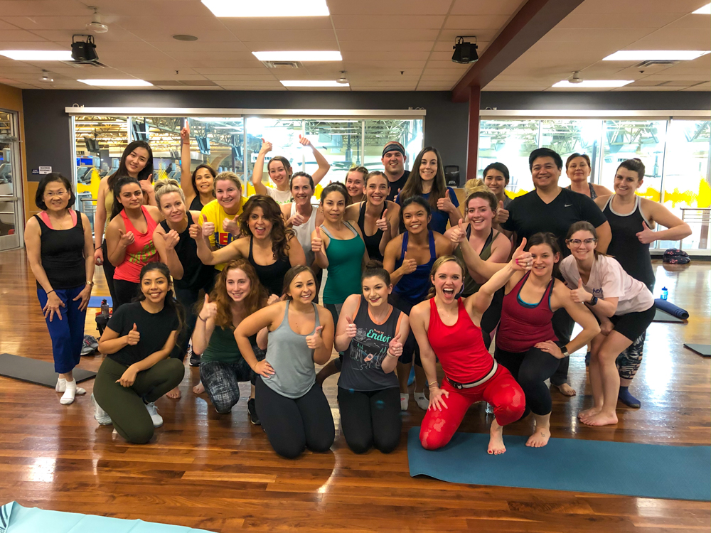 Review of POP Pilates workout and class A Lady Goes West - February 2020