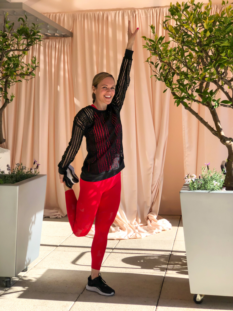 Fabletics outfit - by A Lady Goes West - March 2020