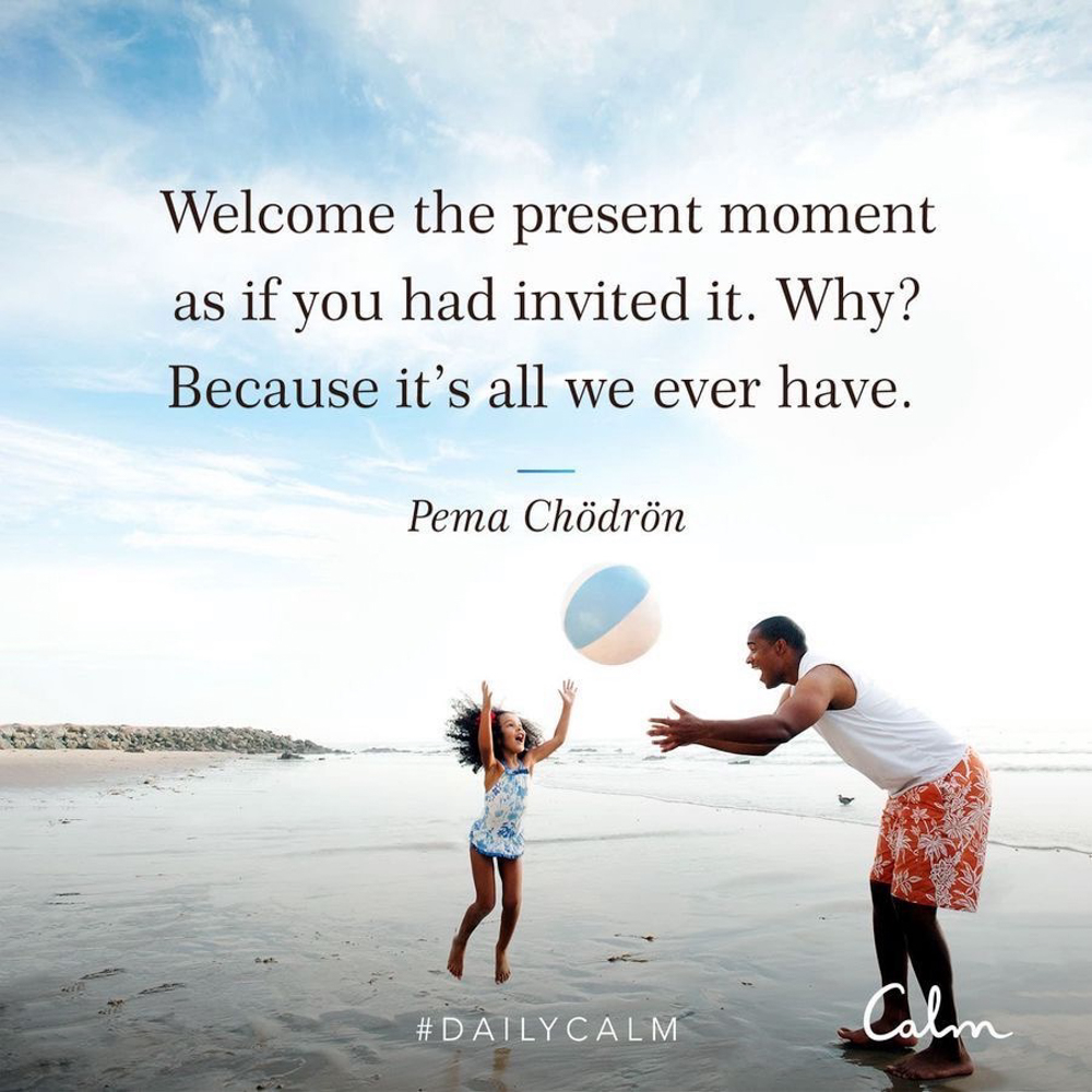 Present moment quote - by A Lady Goes West - March 2020