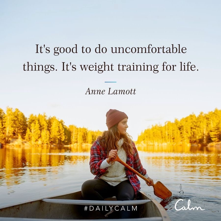 Strength quote from CALM