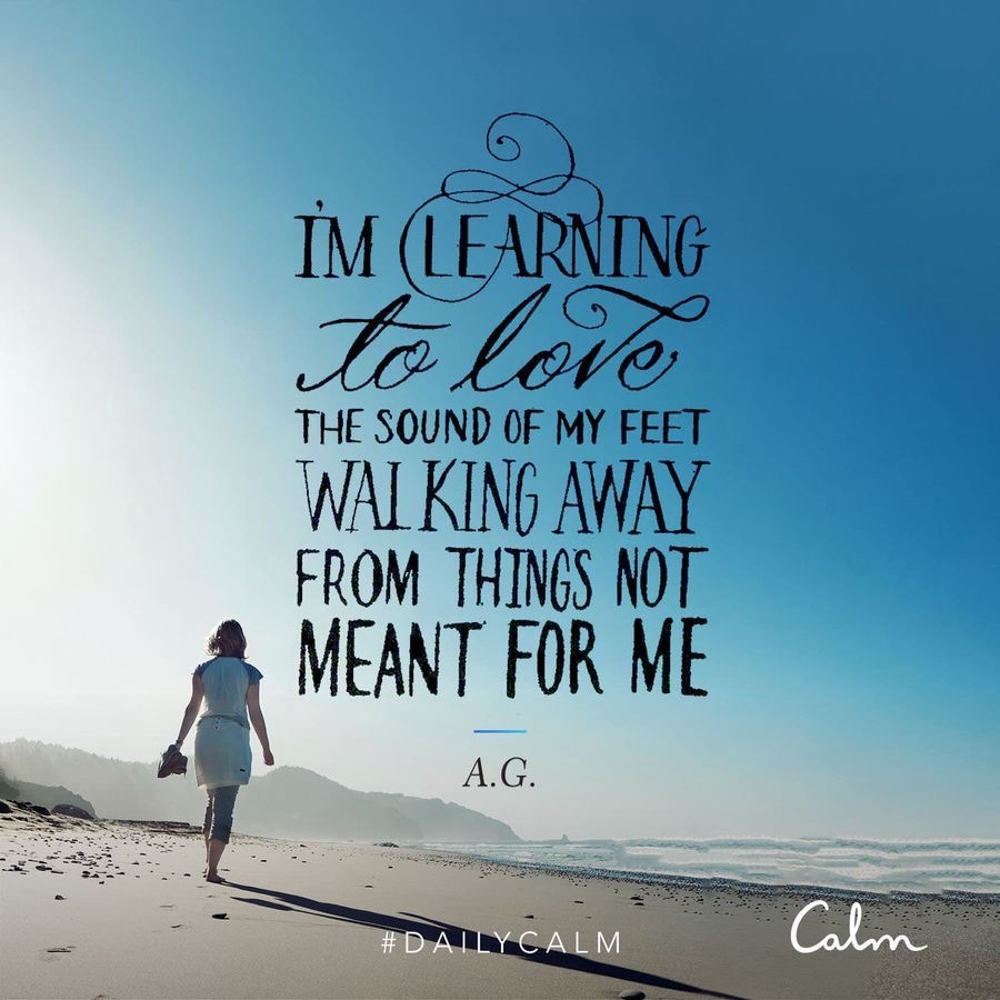 Walking away quote - by A Lady Goes West - March 2020
