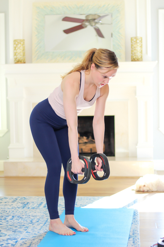 Home workout videos - by A Lady Goes West - April 2020