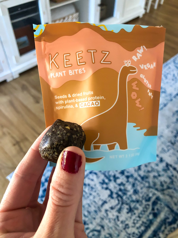Keetz snack bites - by A Lady Goes West - May 2020
