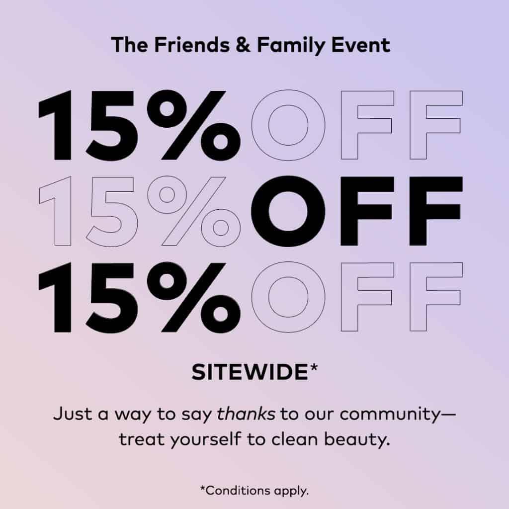 Beautycounter sale!