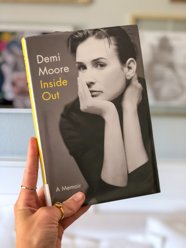 Demi Moore Inside Out by A Lady Goes West - June 2020