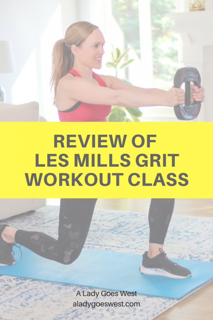 Review of Les Mills GRIT workout class by A Lady Goes West