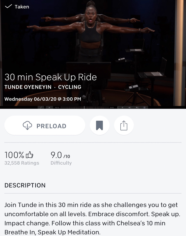 Speak Up ride by A Lady Goes West - June 2020