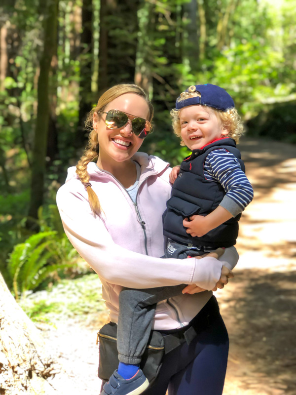 Ashley and Brady at Muir Woods by A Lady Goes West - July 2020