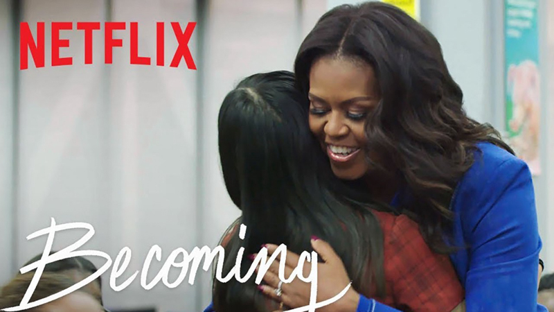 Becoming documentary on Netflix by A Lady Goes West - July 2020