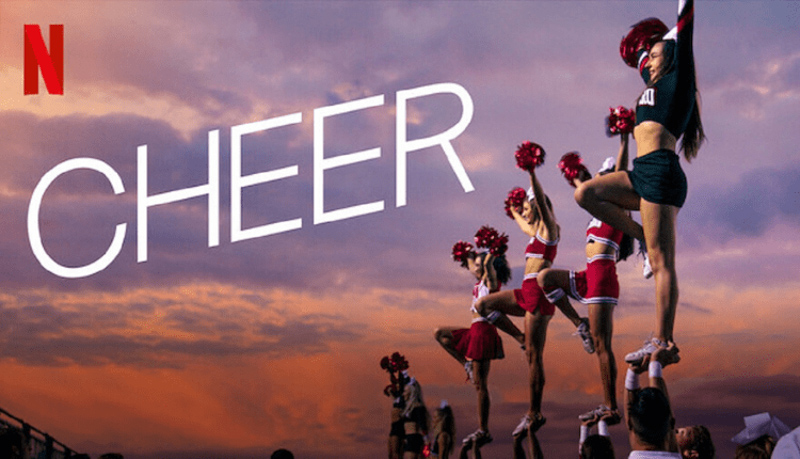 Cheer documentary on Netflix by A Lady Goes West - July 2020