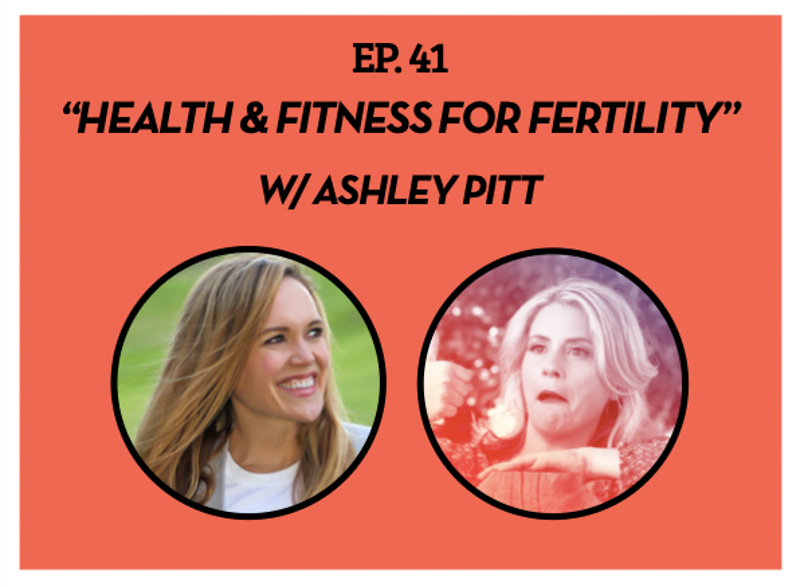 Fitness and fertility podcast by A Lady Goes West - July 2020