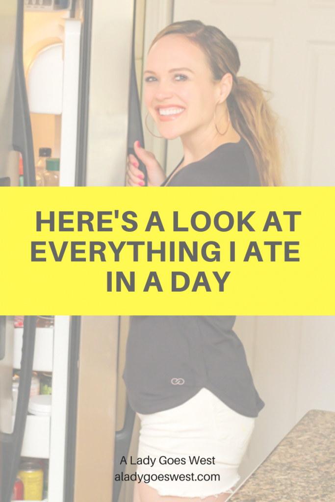 Here's a look at everything I ate in a day by A Lady Goes West