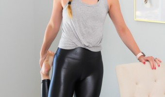 New Takara Shine Carbon 38 leggings by A Lady Goes West - July 2020