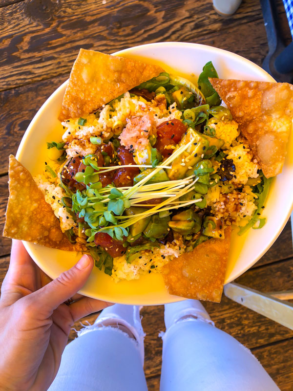 Poke Bowl from Mission Rock by A Lady Goes West - July 2020