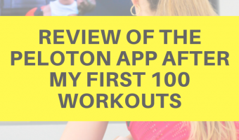 Review of the Peloton app after my first 100 workouts by A Lady Goes West