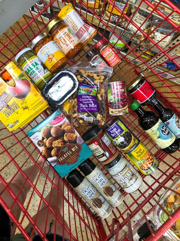 Trader Joe's cart by A Lady Goes West - July 2020
