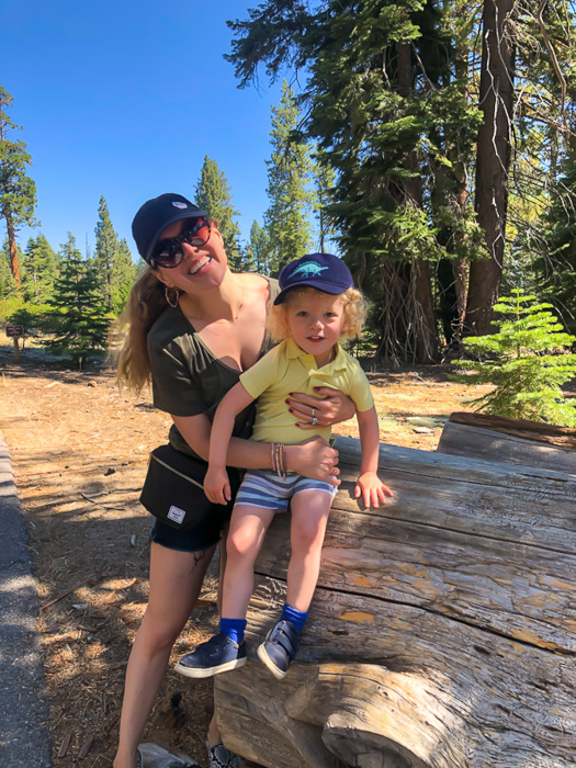 Ashley and Brady at Sugar Pine Tahoe by A Lady Goes West