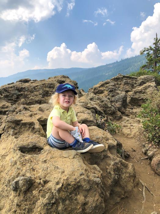 Brady at Eagle Rock by A Lady Goes West