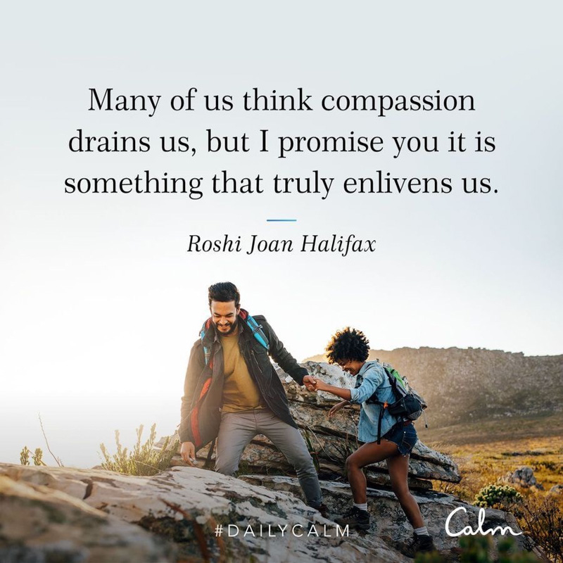 Compassion quote by A Lady Goes West - August 2020