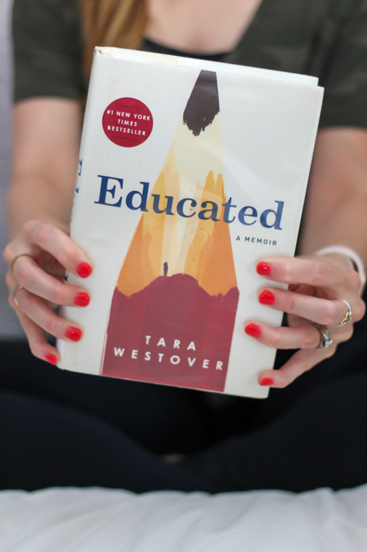 Educated book by A Lady Goes West - August 2020