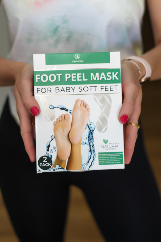 Foot peel mask by A Lady Goes West - August 2020