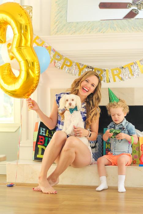 Ashley and Brady on Brady's 3rd birthday by A Lady Goes West