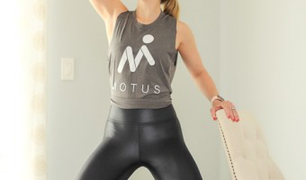 Ashley teaching for Motus by A Lady Goes West