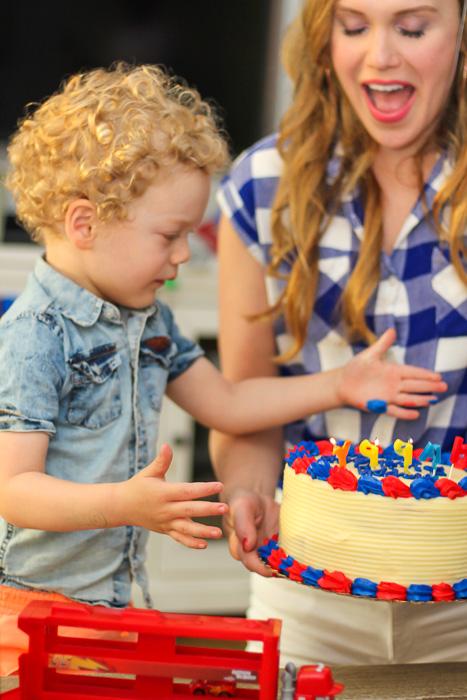 Brady's 3rd birthday by A Lady Goes West