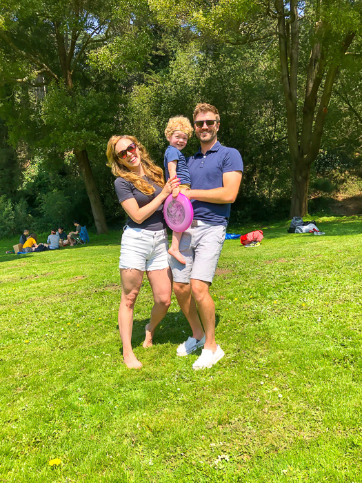 Family picnic at Golden Gate Park in SF by A Lady Goes West