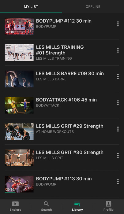 Workouts on Les Mills On Demand by A Lady Goes West