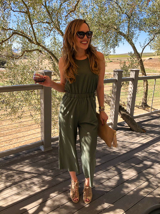 Ashley at Calmere Winery by A Lady Goes West