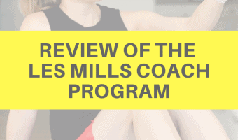 Review of the Les Mills Coach program by A Lady Goes West