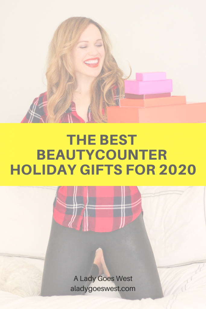 The best Beautycounter holiday gifts for 2020 by A Lady Goes West
