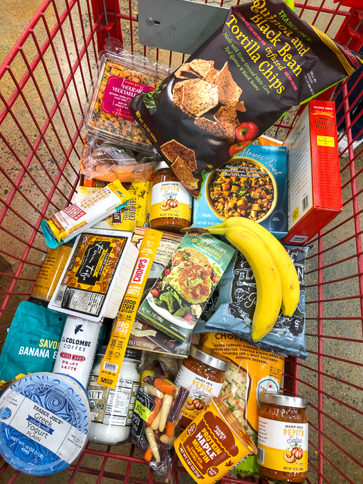 Trader Joe's groceries by A Lady Goes West