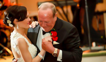 Dancing with dad at my wedding 2012 by A Lady Goes West