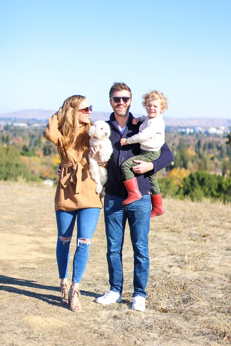 Pitt family at Dinosaur Hill November 2020 by A Lady Goes West