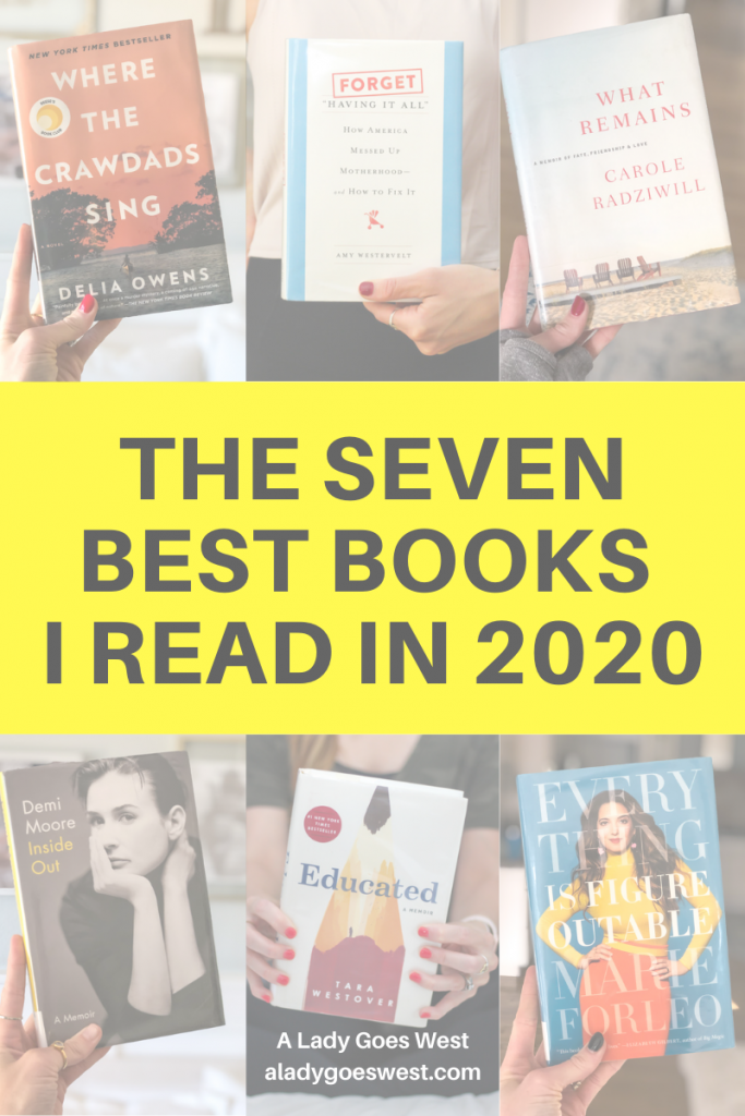 The seven best books I read in 2020 by A Lady Goes West