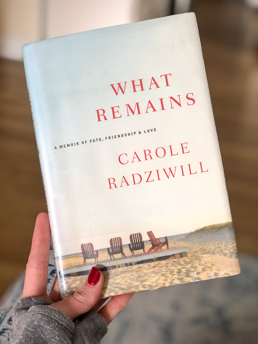 What Remains book by A Lady Goes West