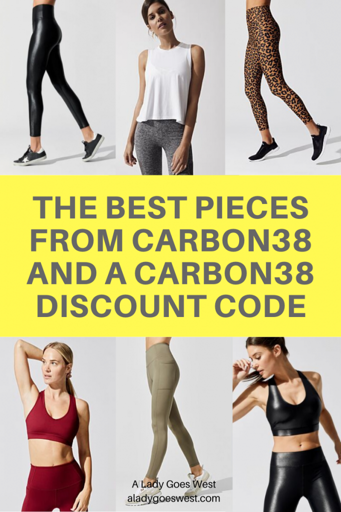 The best pieces from Carbon38 and a Carbon38 discount code by A Lady Goes West in January 2021