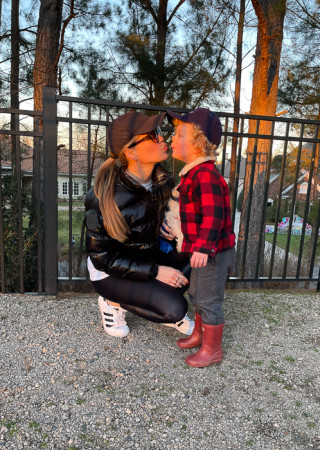 Ashley and Brady at Ballantyne park by A Lady Goes West February 2021
