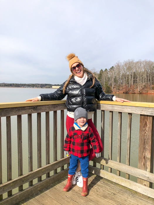 Ashley and Brady at Lake Wylie by A Lady Goes West February 2021