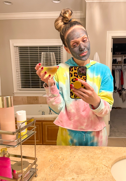 Ashley in tie-dye by A Lady Goes West February 2021