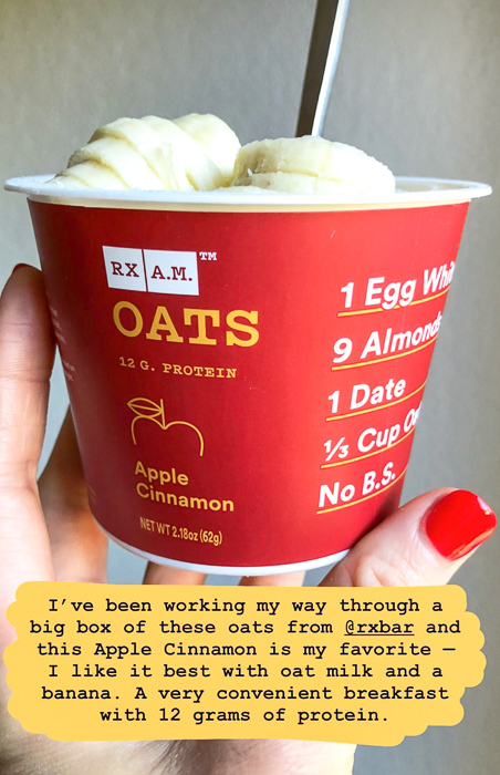 RX AM oats breakfast by A Lady Goes West February 2021