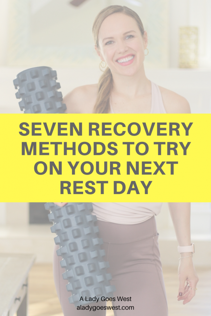 Seven recovery methods to try on your next rest day by A Lady Goes West