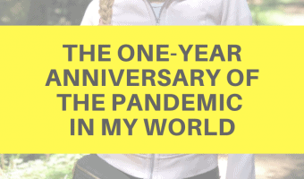 The one-year anniversary of the pandemic in my world by A Lady Goes West