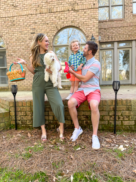 Easter family 2021 by A Lady Goes West