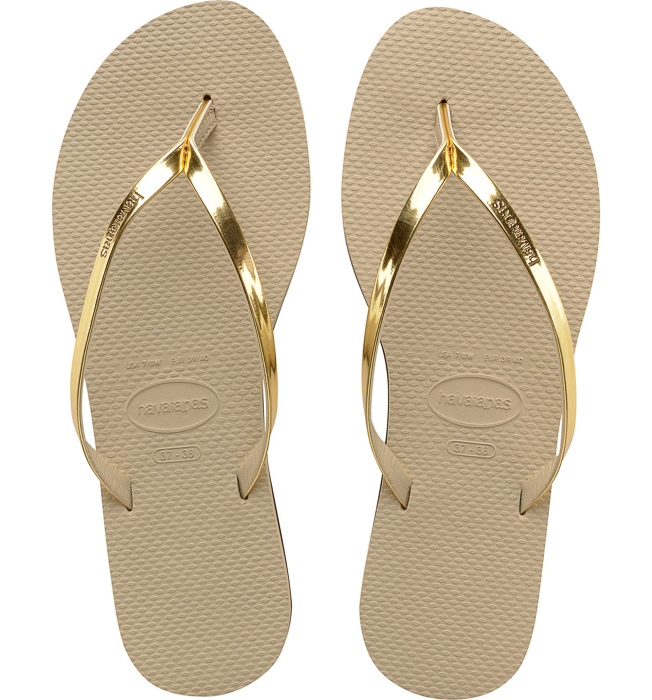 Flip flops by A Lady Goes West