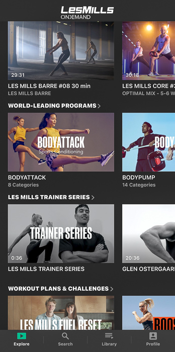 Les Mills On Demand app by A Lady Goes West